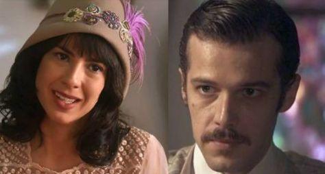 Lucinda e Fernão se tornam amantes em Tempo de Amar