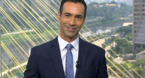 César Tralli entra para rodízio do Jornal Nacional
