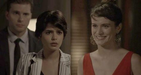 O Outro Lado do Paraíso: Clara revela à Adriana que também é filha de Beth