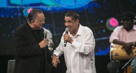 Zeca Pagodinho celebra 59 anos e ganha um presente especial no Altas Horas