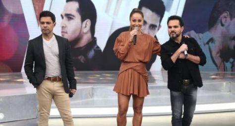 Record TV reprisa Programa da Sabrina com Zezé di Camargo e Luciano