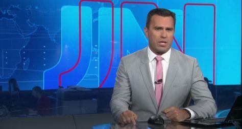Globo define o substituto de William Bonner no Jornal Nacional