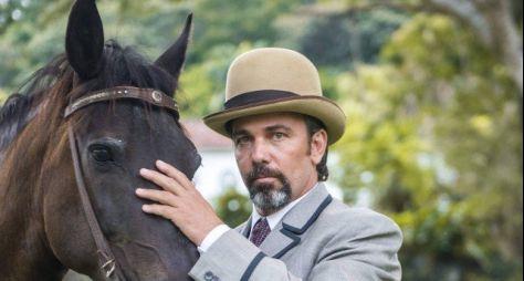 Marcelo Faria muda visual para viver um lorde em Orgulho e Paixão