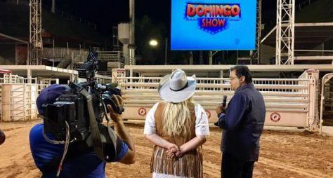 Em novo horário, Domingo Show exibe entrevista exclusiva com Mara Magalhães