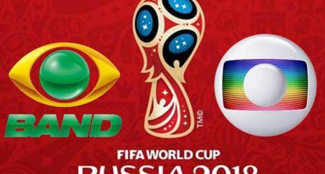 Band não poderá exibir imagens de gols da Copa do Mundo da Rússia