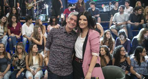 Altas Horas recebe Laura Pausini neste sábado (3)