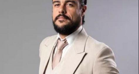 Joaquim Lopes caracterizado como vilão de Orgulho e Paixão