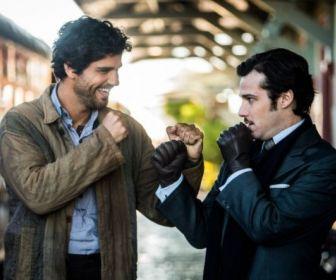 Tempo de Amar: Inácio e Fernão discutem no meio da rua