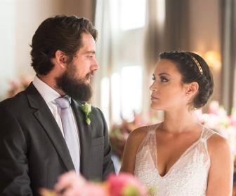 O Outro Lado do Paraíso: Chega o dia do casamento de Clara e Renato
