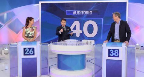"""""""Não quero mais ser apresentador"""", brinca Silvio Santos neste domingo"""