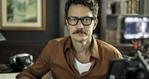 Gabriel Braga Nunes grava cenas de Se Eu Fechar os Olhos Agora