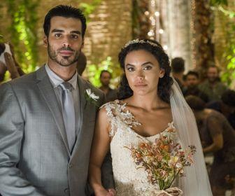 O Outro Lado do Paraíso: Casamento de Cleo e Xodó é marcado pela emoção