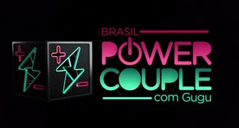 Gugu Liberato grava chamadas do Power Couple Brasil