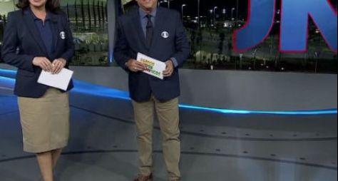 Copa do Mundo: Renata Vasconcellos e Galvão Bueno repetirão parceira no JN