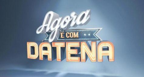Datena grava piloto do seu novo programa; estreia domingo!