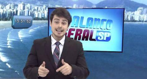 Record TV deve trocar o apresentador do Balanço Geral Manhã