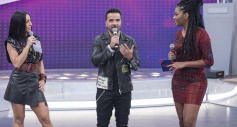 Programa da Sabrina recebe astro Internacional, o cantor Luiz  Fonsi