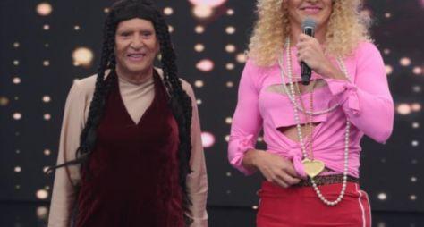 Rodrigo Faro e Carlos Alberto de Nóbrega se transformam em Anitta
