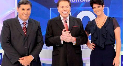 Silvio Santos recebe Carlos Nascimento e Mariana Godoy neste domingo (15)