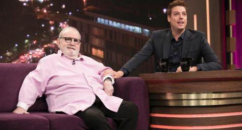 No Programa do Porchat, Jô Soares admite que não sente falta da televisão