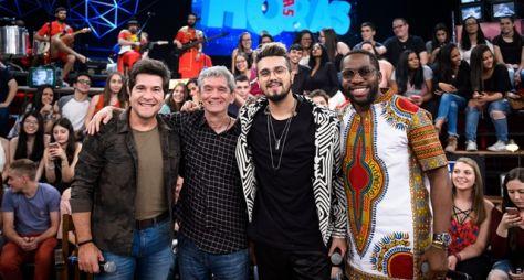 Com Luan Santana e Daniel, Serginho Groisman faz programa musical