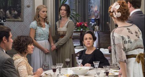 Orgulho e Paixão: Jane interrompe jantar na mansão Bittencourt
