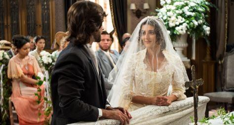 Orgulho e Paixão: Cecília e Rômulo se casam apesar da armação de Fani