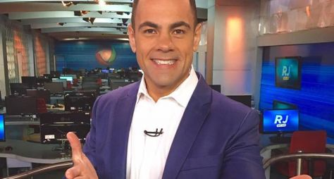 Tino Junior é o substituto oficial de César Filho no Hoje em Dia