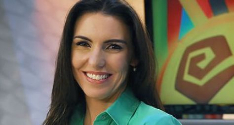 Glenda Kozlowski é reforço para o Jornal da Globo durante a Copa do Mundo