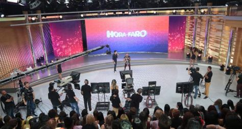 Record TV: O novo cenário do Hora do Faro