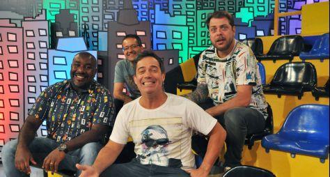 Encrenca estreia novo cenário em programa ao vivo neste domingo (6)