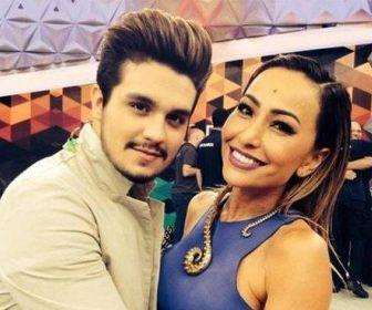 Luan Santana grava participação no Programa da Sabrina