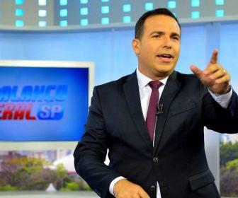 Reinaldo Gottino comemora a liderança do Balanço Geral SP