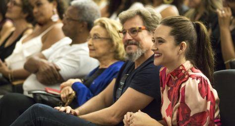Em workshop, Globo reúne elenco de O Tempo Não Para