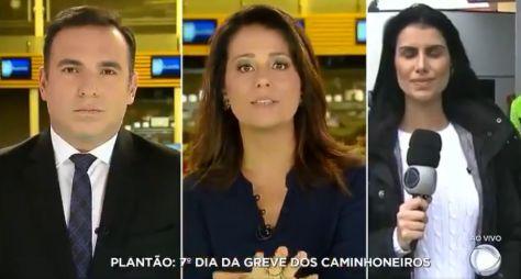 Greve dos caminhoneiros: Telejornais da Record TV surpreendem no Ibope