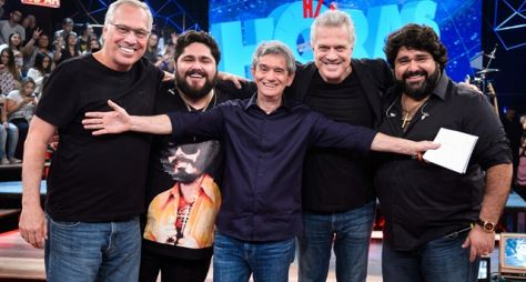 Altas Horas: Programa faz encontro de irmãos no palco