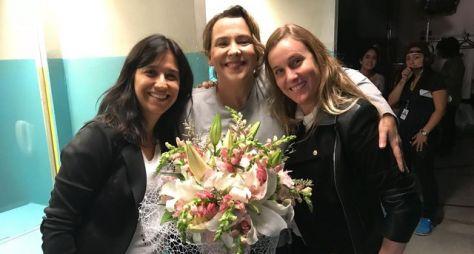 Ana Beatriz Nogueira se despede do elenco de Malhação: Vidas Brasileiras