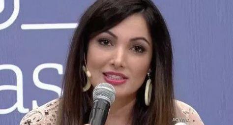 Patrícia Poeta apresenta projeto de programa de entretenimento à Globo