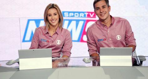 Copa do Mundo: Cristiane Dias e Ivan Moré apresentam o  SporTV News