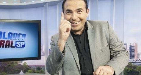 Em dia de repórter, Gottino celebra primeira vitória do Balanço Geral