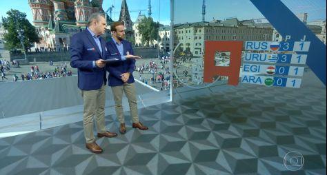 Copa do Mundo: Jogo entre Egito e Uruguai garante liderança à TV Globo