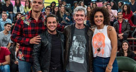 Otaviano Costa, Thammy Miranda e Fabíula Nascimento no Altas Horas