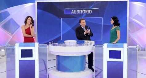 Programa Silvio Santos traz Babi Xavier e Débora Bergamasco no Jogo das 3 Pistas