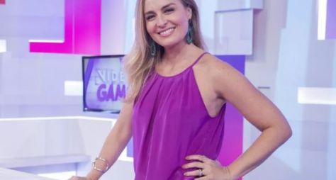 Angélica pode apresentar novo game as noites de quinta