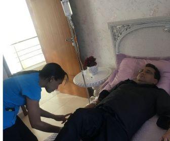 Geraldo Luís passa mal durante gravação do Domingo Show em Goiânia