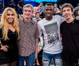 Altas Horas: Joelma e Di Ferrero comentam novos rumos da carreira