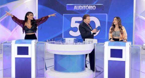 Silvio Santos recebe MC Pocahontas e Dani Russo neste domingo (24)