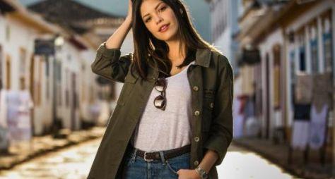 Vitória Strada muda visual para defender mocinha de Espelho da Vida