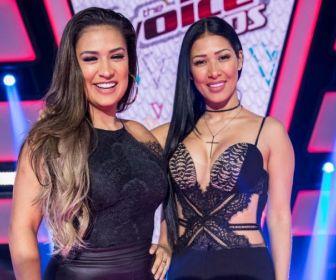 Simone e Simaria estão garantidas no The Voice Brasil Kids