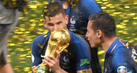 A audiência do bicampeonato da França na Copa do Mundo da Rússia